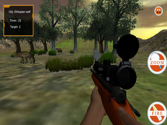 Wild Sniper Forest Hunting Pro screenshot 7