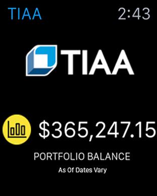 TIAA-CREF iPhone Screenshot 6