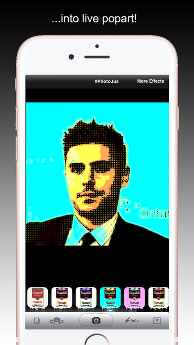 PopArt - Create Portrait with Pop Art Camera FX Screenshots