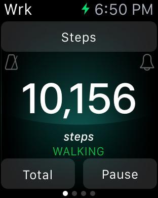 Footsteps - Pedometer iPhone Screenshot 7