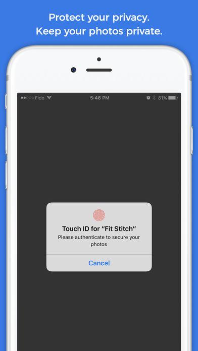 Fit-Stitch: Visual Fitness Progress Tracker Screenshots
