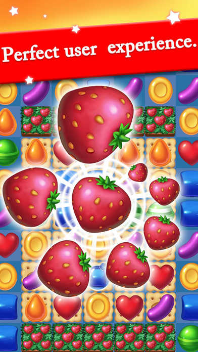 Sweet Jelly Candy Games free for iPhone/iPad screenshot