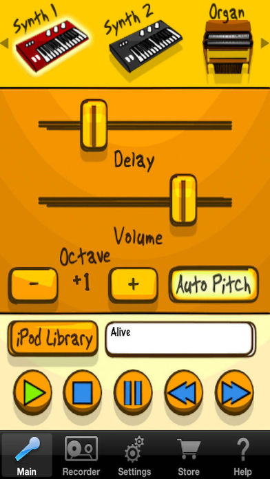 Voice Band iPhone Screenshot 3