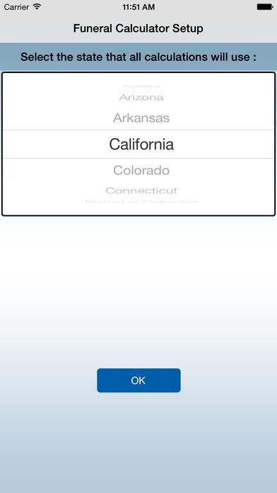 iFuneral iPhone Screenshot 2