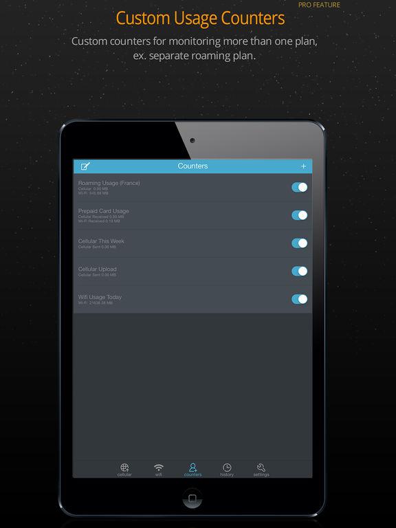 Data Usage Pro Screenshots