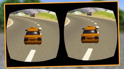 VR Modern Snow Taxi Driving screenshot 3