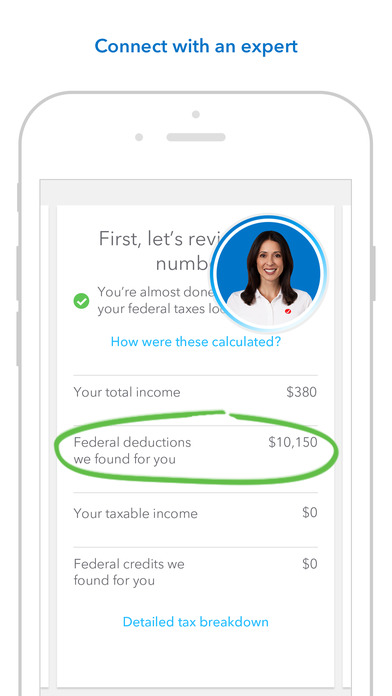 Screenshot for TurboTax Tax Return App - File 2016 income taxes in United States App Store