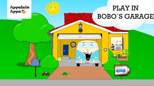 Bobo Garage - Car Games for Toddlers, Babies 1-2-3 Screenshots