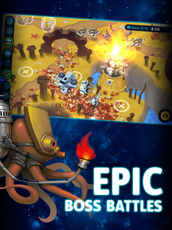 OTTTD: Over The Top Tower Defense Screenshot