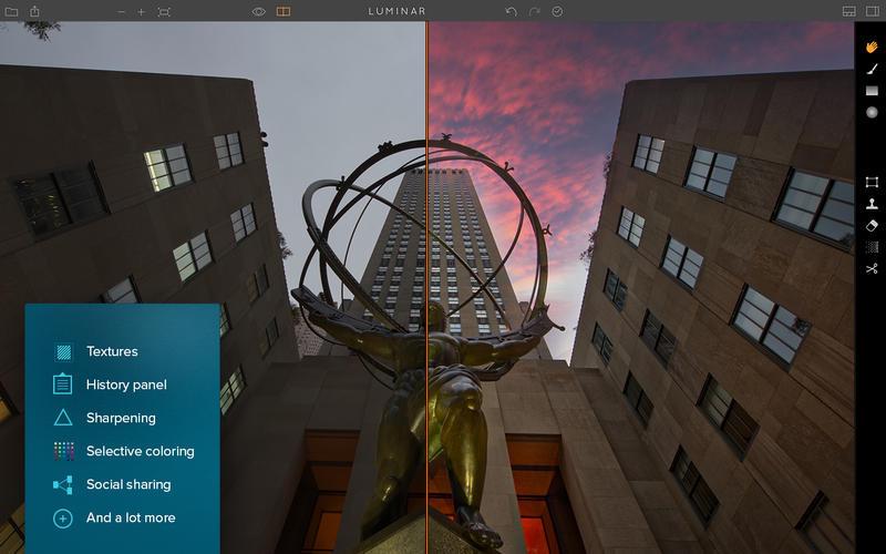 Luminar Photo Editor Screenshots
