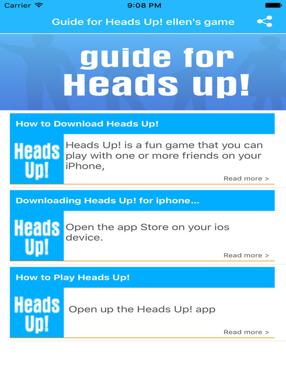 heads up game instructions
