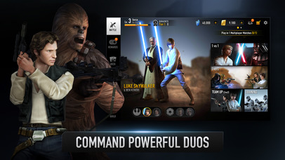 Image of Star Wars™: Force Arena for iPhone