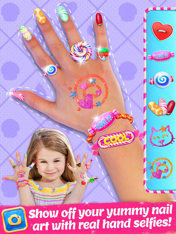 Candy Nail Art | TabTale