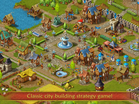 Screenshot #1 for Townsmen Premium
