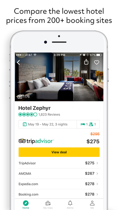 TripAdvisor Hotels Flights Restaurants screenshot