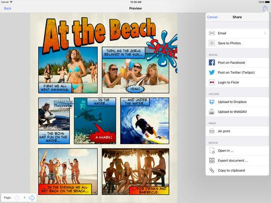 Strip Designer iPad Screenshot 5