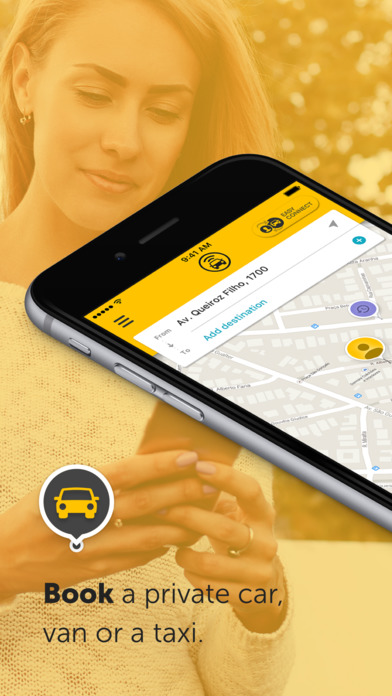 Easy - taxi, car, ridesharing screenshot 1