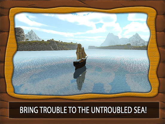 Pirate Ship Sim 3D - Sea Treasures Pro Screenshots
