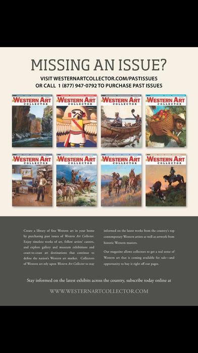 Western Art Collector iPhone Screenshot 3