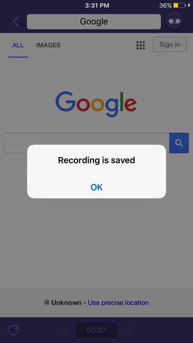 Web Recorder - Record Video for Browser screenshot 1