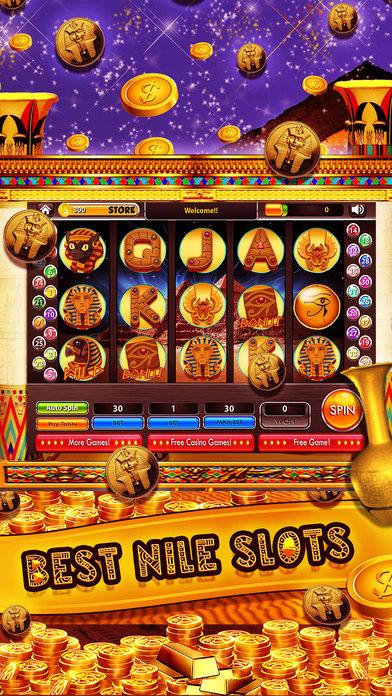 Screenshot 1 King of the Nile Slots – Best Pharaoh's Free Slot