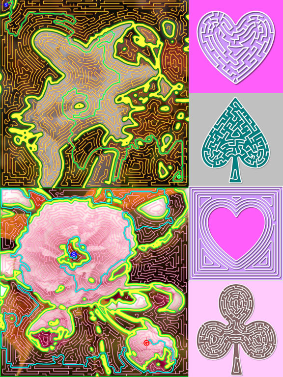 MazeImager - Curve Maze Art Drawing from Photo Screenshots