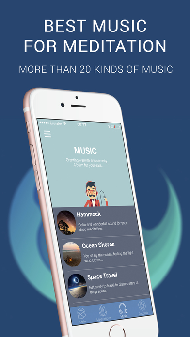 Slowdive: Meditation for Healthy Sleep & Relax Apps free for iPhone/iPad screenshot
