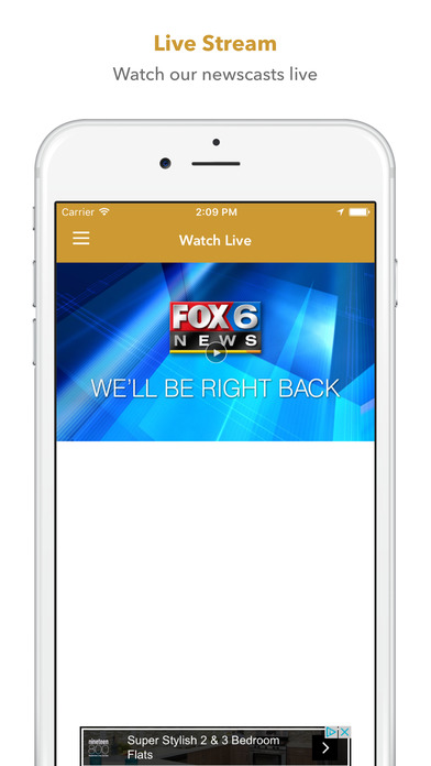 Fox6Now iPhone Screenshot 5