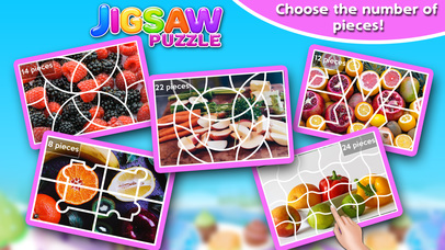 Screenshot #7 for Fruits & Vegetables Jigsaw Puzzle - Fun With Foods