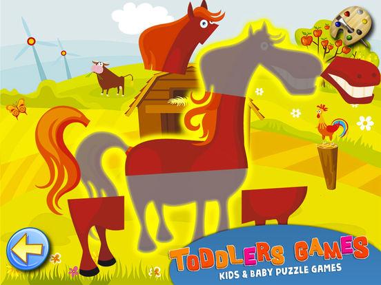 пазлы и детей: игры для малышей и baby бесплатно