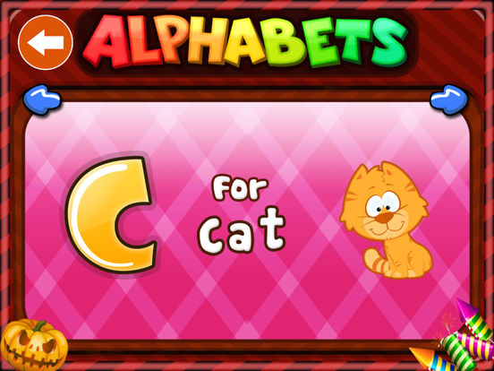 Alphabets HD Lite by KLAP - Best way to learn alphabets for kids. Learning is fun and entertaining now. iPad Screenshot 4