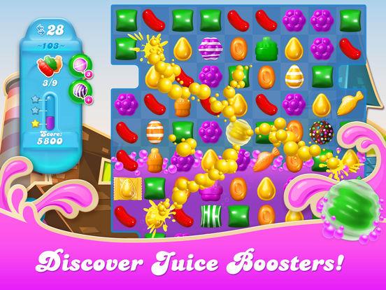 Screenshots of Candy Crush Soda Saga for iPad
