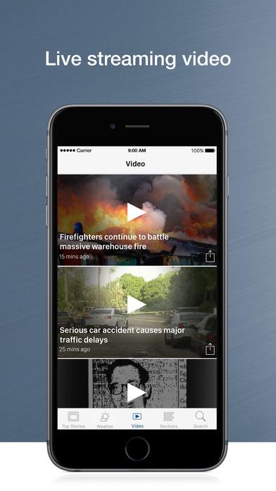 WTMJ-TV iPhone Screenshot 5