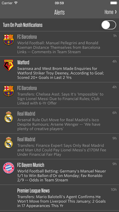 Team Stream: Sports news, scores, & highlights on the App Store