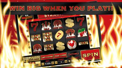 Screenshot 2 Горящий ад — игровой автомат в казино Vegas