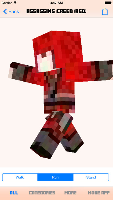 Pro Skins For Minecraft PE Pocket Edition AppRecs - Skin para minecraft pe de assassins creed
