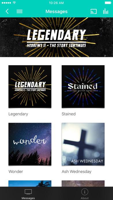 Newsong Church iPhone Screenshot 1