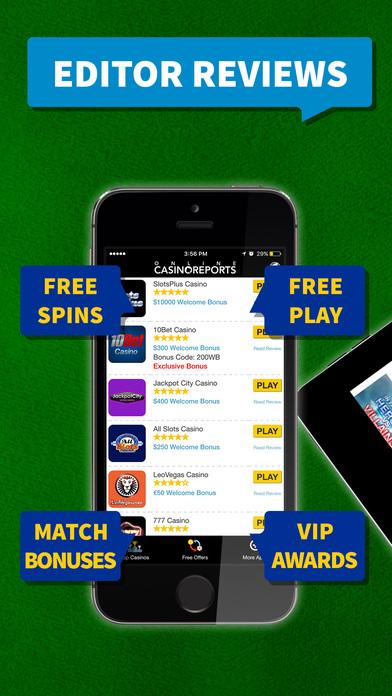 online casino free spins  app