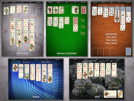 Screenshot #4 for Solitaire City (Ad-Free)