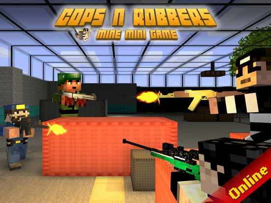 Cops N Robbers (FPS) - Prison Survival Multiplayer Screenshots