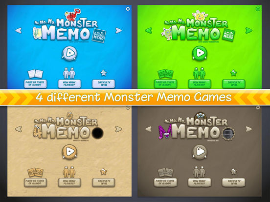 MoMoMonster Memo Screenshots