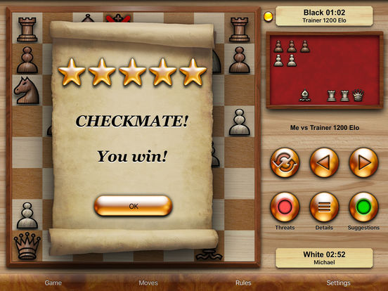 Chess Pro - with coachscreeshot 2