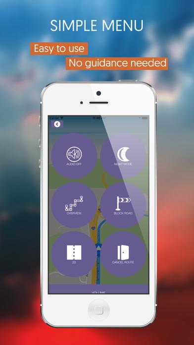 Central African Republic, Offline Auto GPS screenshot 2