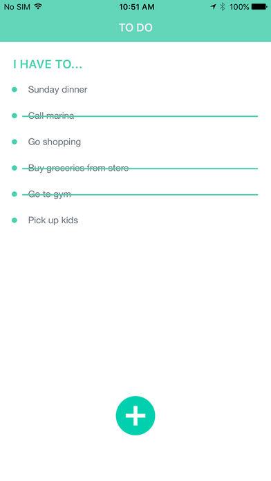 Lists To Do Screenshots