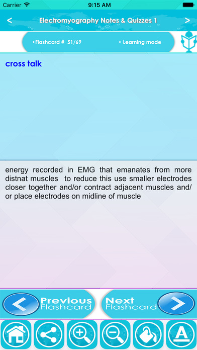 Electromyography (EMG) Exam Review & Test Bank App screenshot 3