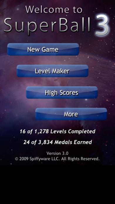 SuperBall 3 Lite Edition iPhone Screenshot 2