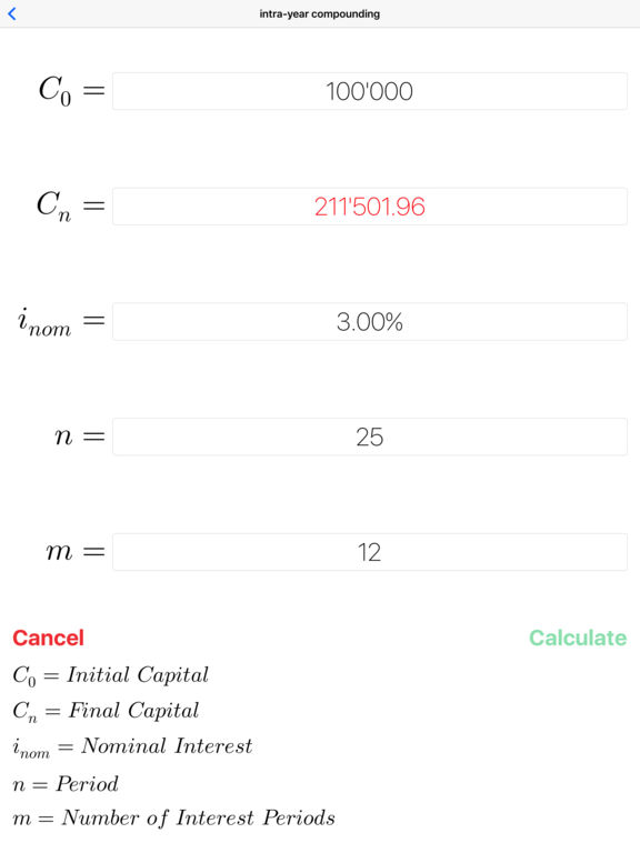 FinCalcPro - Financial Mathematics solver Screenshots