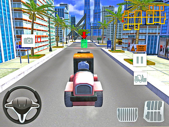 Modern City Police Car Lifter Pro screenshot 5