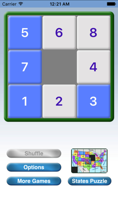 Numbers Puzzle iPhone Screenshot 5