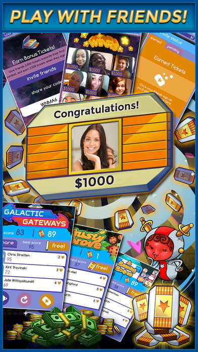 Jazz Ball - Play Games. Win Real Cash Money App! iPhone Screenshot 5